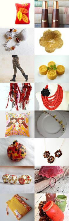 Autumn Colours by Untried on Etsy--Pinned with TreasuryPin.com