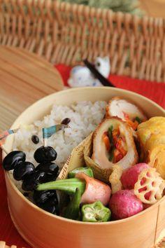 Twitter from @amagureen おはようございます ヽ(*´∀`*)ノ 今日のお弁当です。 #obentoart