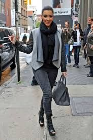 kim kardashian style casual