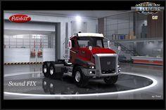 Cat Dealers, Lego Truck, American Truck Simulator, Peterbilt, Caterpillar, Trucks, Cats, Gatos, Truck