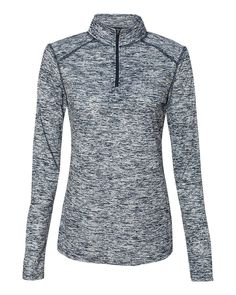 Badger Sport BG4193 Women's Blend 1/4-Zip Pullover -- See this great product.