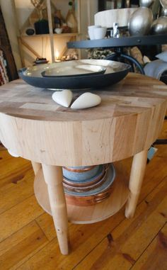 Scandinavian-inspired table
