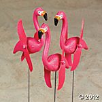 pink flamingos...obviously need a few of these