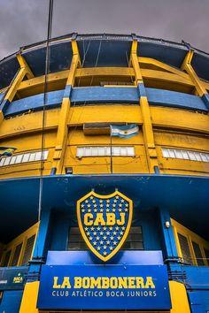 La Bombonera Boca Juniors Stadium in La Boca Buenos Aires, Argentina Messi Vs, Lionel Messi, Football Stadiums, Sport Football, Argentina Travel, Fifa World Cup, Places Around The World, Cool Places To Visit, Instagram