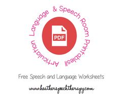 Printables Mommy Speech Therapy Worksheets free speech therapy worksheets mommy for therapy