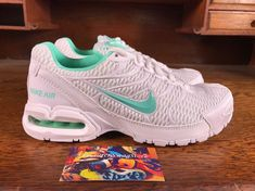 19debb76546 Womens Nike Air Max Torch 4 Running Shoes White Turquoise 343851-100