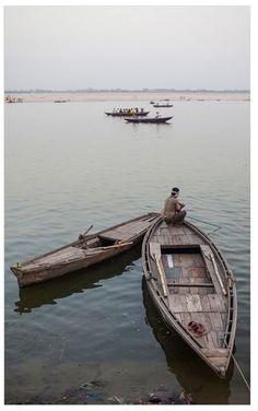 Pottery Barn Varanasi, India Framed Print by Jesse Leake