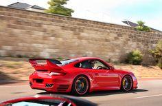 Porsche TechArt 997 Turbo by Coconut Photography, via Flickr