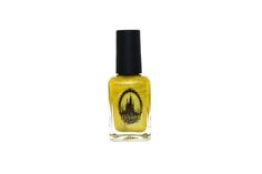 Enchanted Polish - House of the Rising Sun.  Type: shimmer holographic  Color: sunflower yellow/gold