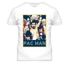 Manny Pacquiao Pac Man Hope Boxing T Shirt