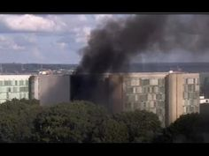 Militantes colocam fogo no Ministério da Agricultura em Brasília