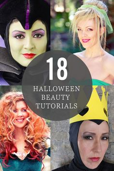 Bring your craziest ideas to life with these easy Halloween beauty tutorials. Whether you want to look like a Disney Princess or a scary villain, these makeup and hair tips will help you look your best.