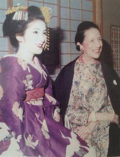 Diana Vreeland in Japan 1975
