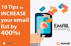 Who doesn't want to increase email list? Get started with these 10 tips!