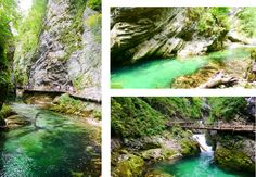 RAVEL - Roadtrip Slovenie - Vintgar Gorge kloof