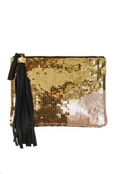 Crystal ball clutch by Lizzie Fortunato