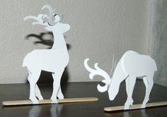 Paper Reindeer — Crafthubs