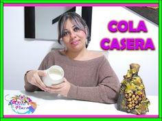 COMO HACER COLA CASERA/ COLBON MADERA/ COLA DE CARPINTERO/ PEGAMENTO BLANCO - YouTube Decoupage, Scrap, Diy Crafts, Make It Yourself, Youtube, Creativity, Craft, Paper, Plastic Drawers