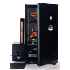 Electric Smoker - It's like the crock pot of BBQ, set it and forget it!