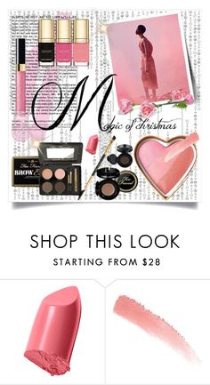"""""""Untitled #544"""" by scarletj17 ❤ liked on Polyvore featuring beauty, Too Faced Cosmetics, Dolce&Gabbana, Bobbi Brown Cosmetics, giftguide, Beauty and stockingstuffers"""