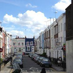 . Notting Hill London, Street View, Travel, Viajes, Destinations, Traveling, Trips