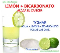Convierte sangre acida a SANGRE ALCALINA, dosis: Agregar zumo 1 limon, 1 cucharita de bicarbonato de sodio a una taza de agua, personas vigentes y con enfermedades cronicas leves, menores de 60 años- Agregar zumo de un limon y 1/2 cucharita de bicarbonato a 1 taza de agua, tomar en ayunas (personas con enfermedades cronicas, no medicamentadas), mayores de 60 años ; tomar hasta 20 dias al mes, descansar 10 dias por mes.