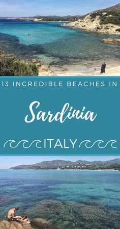 Summer is approaching fast and it is time to think about the holidays. Sardinia beaches are among the most beautiful in the world, making it a fantastic holiday destinations. This post summarizes the 13 best beaches in Sardinia, with plenty of tips to make the most of them | #sardinia #italy #beaches #vacation