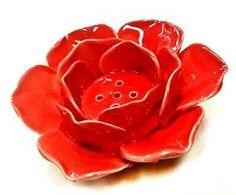 Lotus Incense Burner and Votive T-light Candle Holder Meditation Flower Buddha (red, Inches) Orange Rooms, Thing 1, T Lights, Votive Candle Holders, Incense Burner, Candlesticks, The Ordinary, Valentine Gifts, Buddha