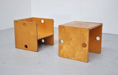 ·|· plywood children's chairs / tables @ Mass Modern Design