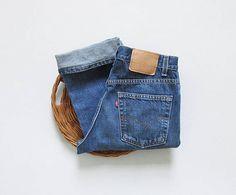vintage levis 505 straight leg jeans | 30 x 31