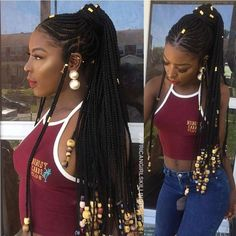 Tresse Et Natte Africaine Tresse Pinterest Curly Hair Styles