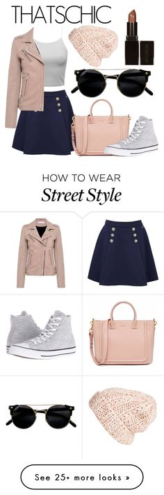 """""""So Chic"""" by noatheboa24 on Polyvore featuring Tommy Hilfiger, IRO, Converse, Free People and Laura Mercier"""
