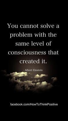 How to Solve a Problem...  #quotes #inspiration #motivation #consciousness