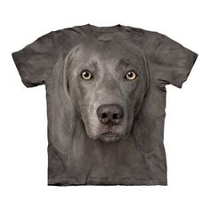 Weimaraner Face T-Shirt Adult now featured on Fab.
