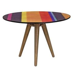 Make a colourful top table in your space. Furniture Direct, Online Furniture, Cool Furniture, Furniture Design, Outdoor Furniture, Furniture Stores, Commercial Furniture, French Furniture, Rustic Industrial