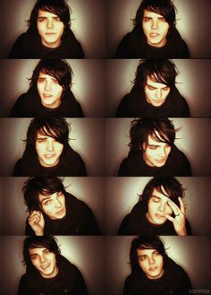 Gerard Way. I have been a fan of this guy for  12 years now. I haven't gotten tired of him yet, so I don't think it's going to happen.