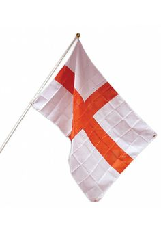 Celebrating St George's Day Go all out and show your support for England with this St George Flag. St George Flag, Six Nations Rugby, St Georges Day, St George's, Funky Design, The St, Decorative Accessories, Party Supplies
