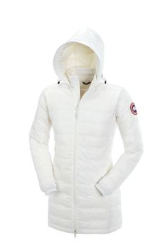 Camp Hooded Jacket - White