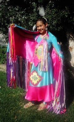pow wow dance outfit from Little Crow Trading Co