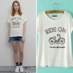 camiseta ride on