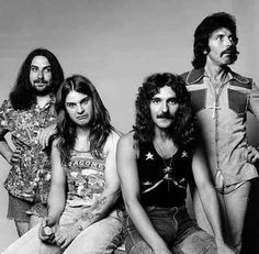 Black Sabbath is one of the first bands that paved the way for later metal groups. Pretty much every person to join the band was/is indisputably insane.