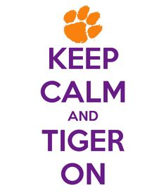 keep calm and tiger on - Bing Images