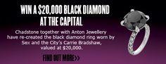 WIN A BLACK DIAMOND AT CHADSTONE THE FASHION CAPITAL Carrie Bradshaw, Black Diamond, News, Fashion, Moda, Fashion Styles, Black Diamonds, Fashion Illustrations