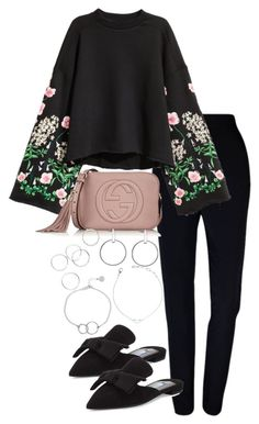 """Untitled #3984"" by theeuropeancloset on Polyvore featuring Plakinger, Prada, Gucci and Chupi"