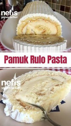Pamuk Rulo Pasta Yapımı – Nefis Yemek Tarifleri How to make a Cotton Roll Cake Making Recipe? Illustrated explanation of this recipe in the book of people and photos of those who try it are here. Author: Tuğçe's Colorful Cuisine⭐️ Yummy Recipes, Pasta Recipes, Cake Recipes, Dessert Recipes, Yummy Food, Food Cakes, Light Snacks, Food Platters, How To Make Cake