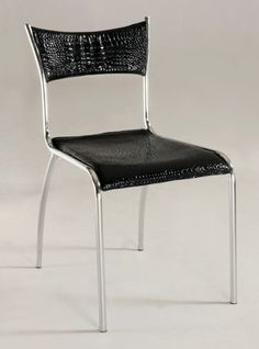Chintaly Imports Daisy Slim Upholstered Back Side Chair Set of 4