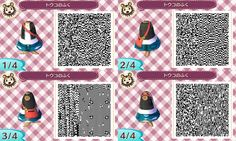 AC:NL QR codes for girl clothing
