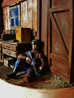 """kk- dioramas: """"Second Day in ZONA"""" - S.T.A.L.K.E.R"""