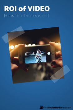 of marketers use video marketing because it gives them good ROI. Lets take a look at how you can increase the ROI of video content even further. Content Marketing, Online Marketing, Social Media Marketing, Digital Marketing, Internet Marketing, Social Media Quotes, Marketing Opportunities, How To Create Infographics