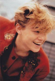 Rare pic of Leonardo DiCaprio